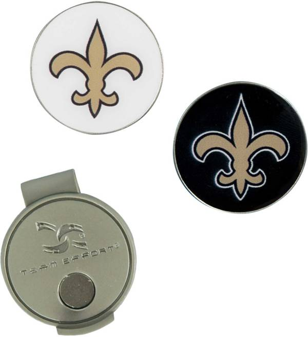 Team Effort New Orleans Saints Hat Clip and Ball Markers Set product image