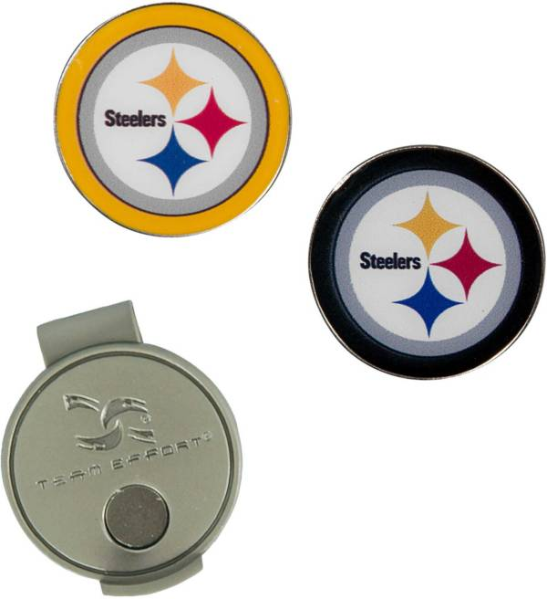 Team Effort Pittsburgh Steelers Hat Clip and Ball Markers Set product image