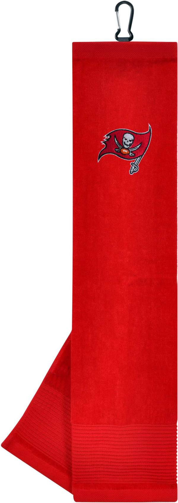 Team Effort Tampa Bay Buccaneers Embroidered Face/Club Tri-Fold Towel product image