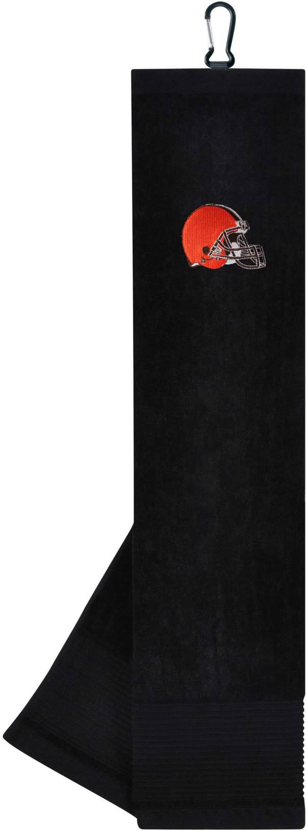 Team Effort Cleveland Browns Embroidered Face/Club Tri-Fold Towel product image