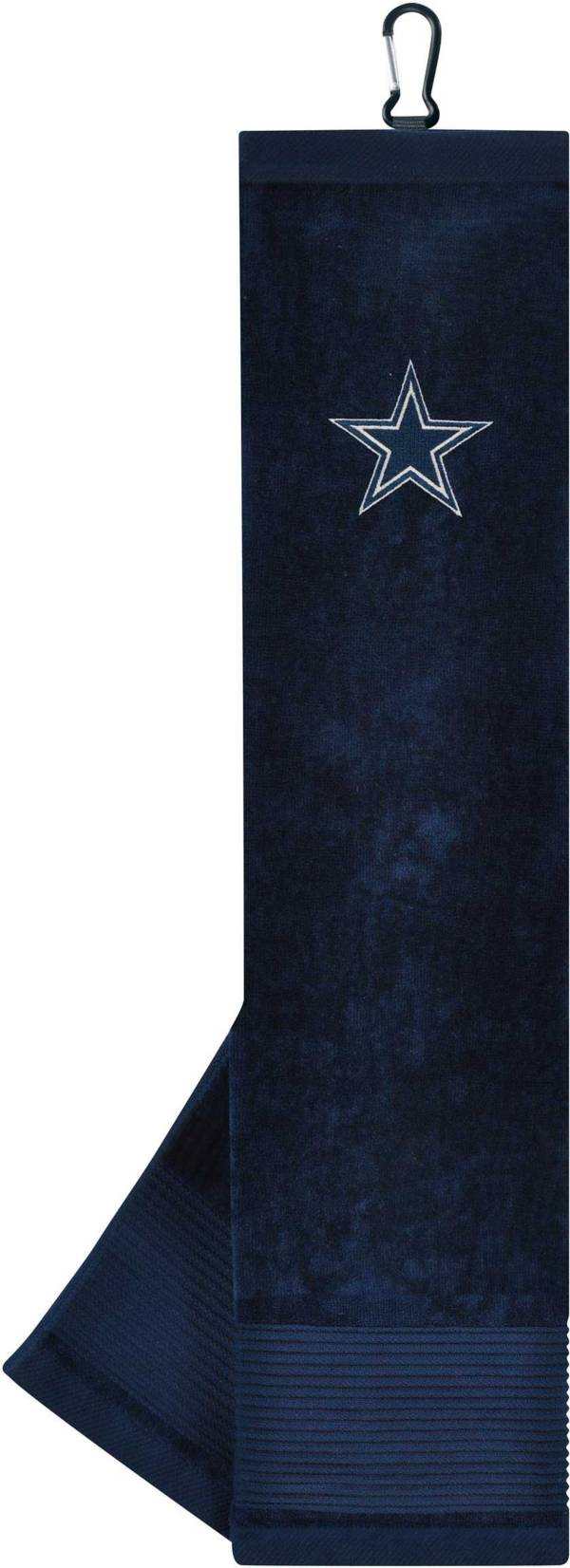 Team Effort Dallas Cowboys Embroidered Face/Club Tri-Fold Towel product image