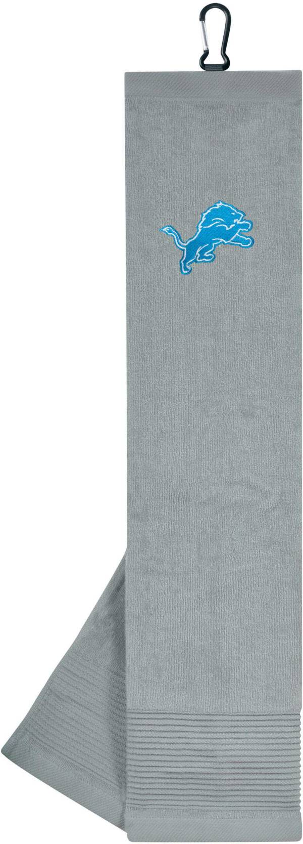 Team Effort Detroit Lions Embroidered Face/Club Tri-Fold Towel product image