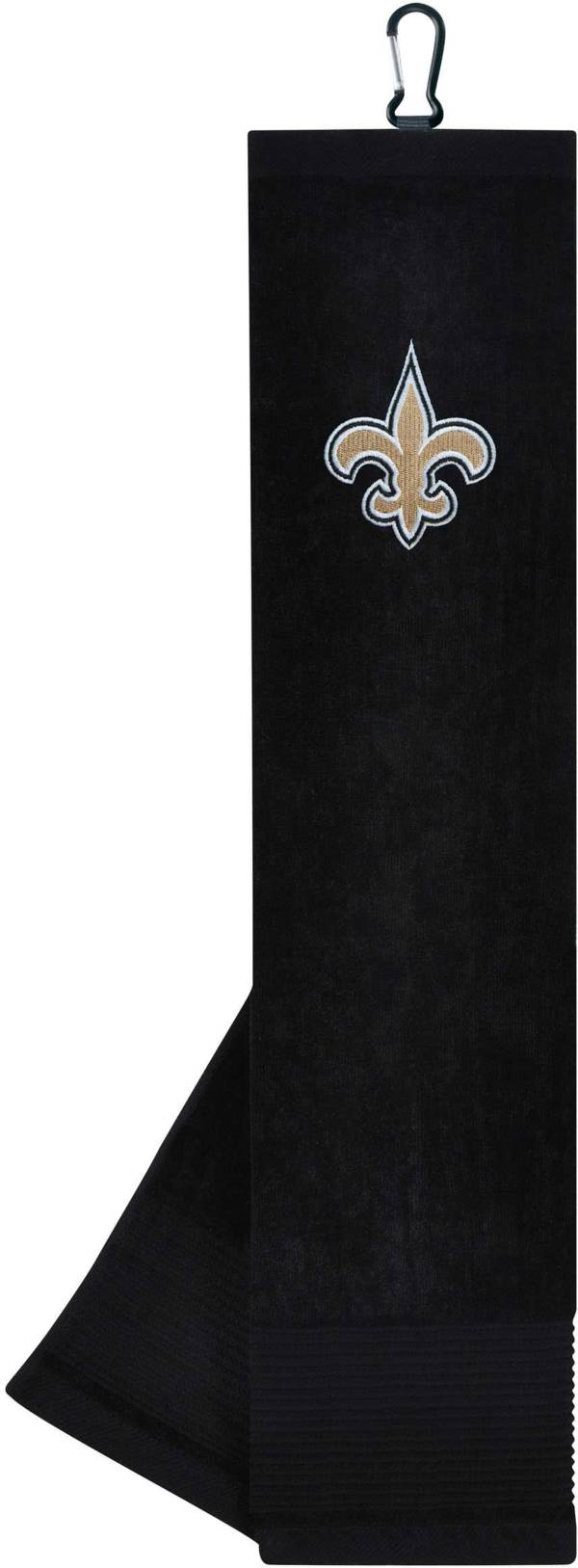 Team Effort New Orleans Saints Embroidered Face/Club Tri-Fold Towel product image