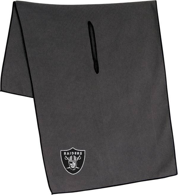 "Team Effort Las Vegas Raiders 19"" x 41"" Microfiber Golf Towel product image"