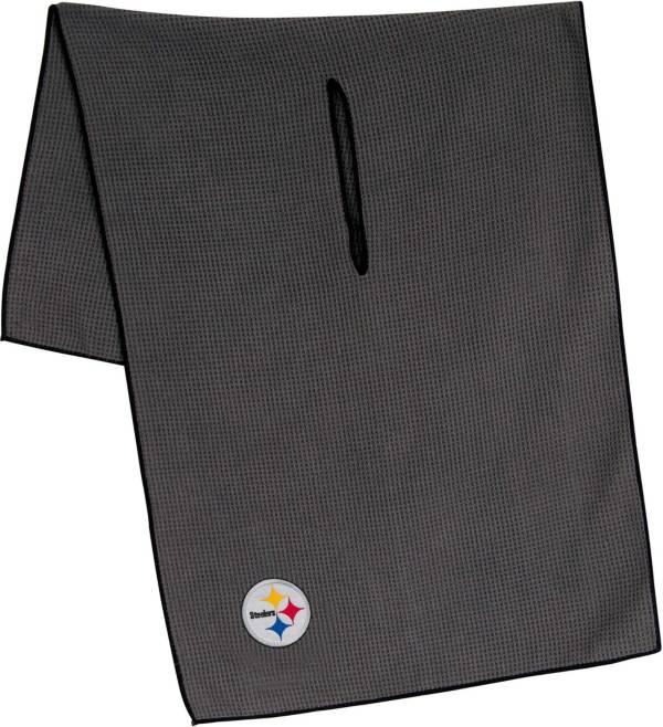 """Team Effort Pittsburgh Steelers 19"""" x 41"""" Microfiber Golf Towel product image"""