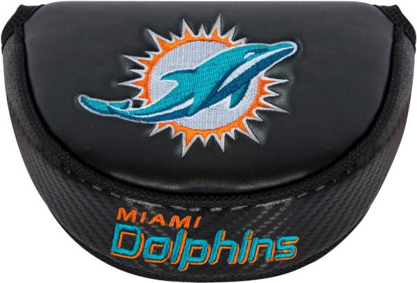 Team Effort Miami Dolphins Mallet Putter Headcover product image