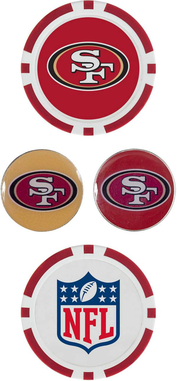 Team Effort San Francisco 49ers Ball Marker Set product image