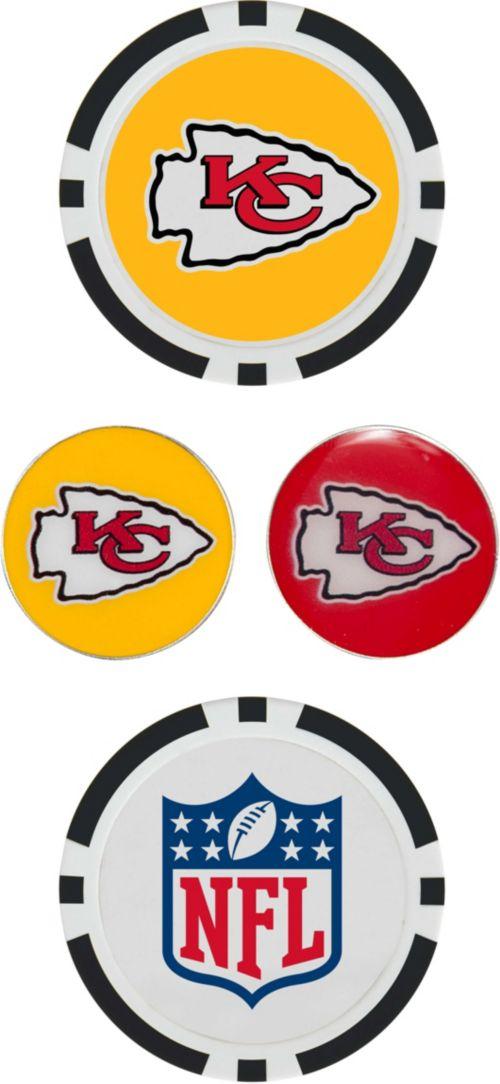 f4c13bae8 Team Effort Kansas City Chiefs Ball Marker Set 1