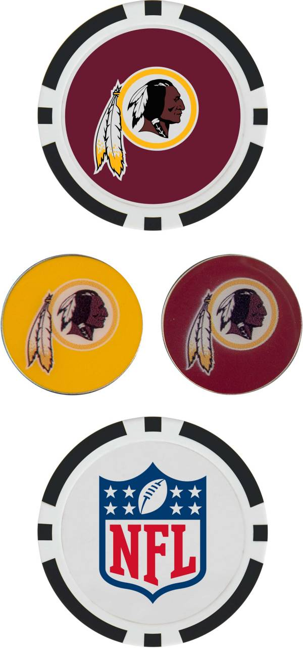 Team Effort Washington Redskins Ball Marker Set product image