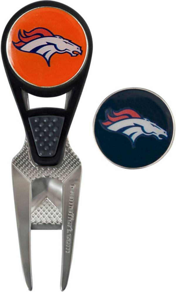 Team Effort Denver Broncos CVX Divot Tool and Ball Marker Set product image