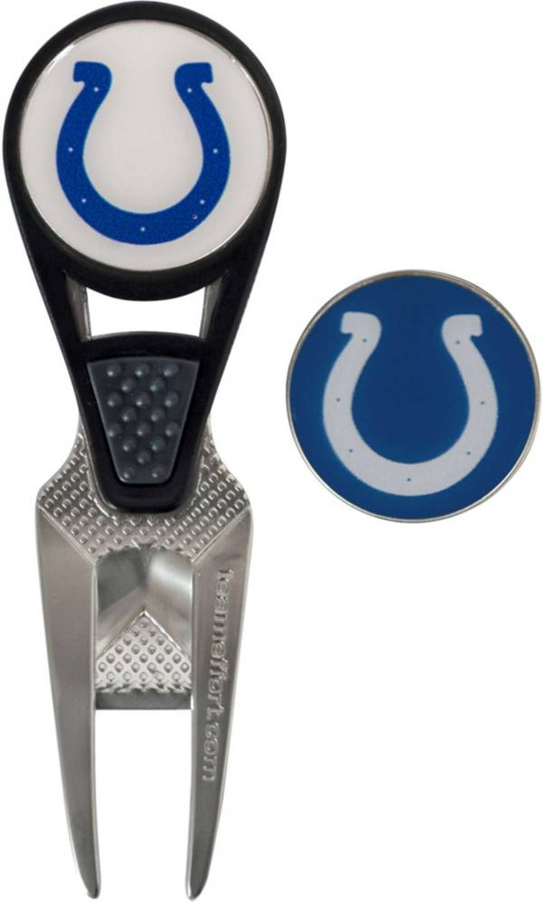 Team Effort Indianapolis Colts CVX Divot Tool and Ball Marker Set product image