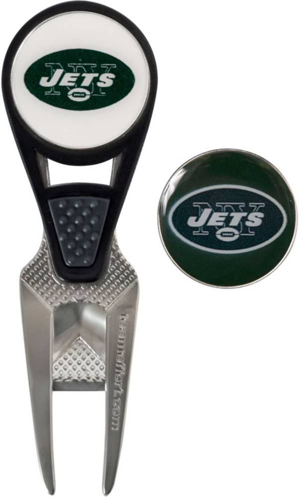 Team Effort New York Jets CVX Divot Tool and Ball Marker Set product image