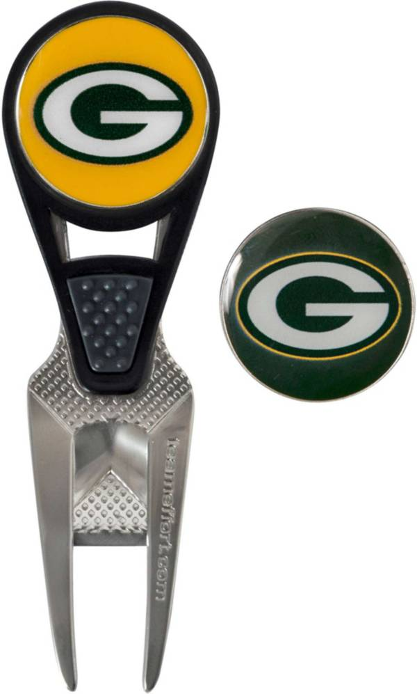 Team Effort Green Bay Packers CVX Divot Tool and Ball Marker Set product image