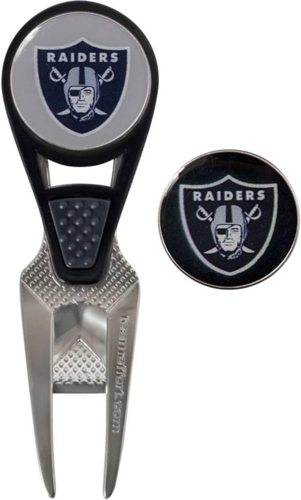 Team Effort Las Vegas Raiders CVX Divot Tool and Ball Marker Set product image