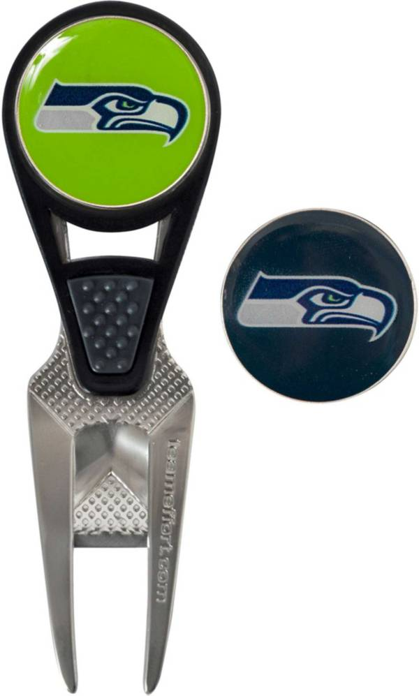 Team Effort Seattle Seahawks CVX Divot Tool and Ball Marker Set product image