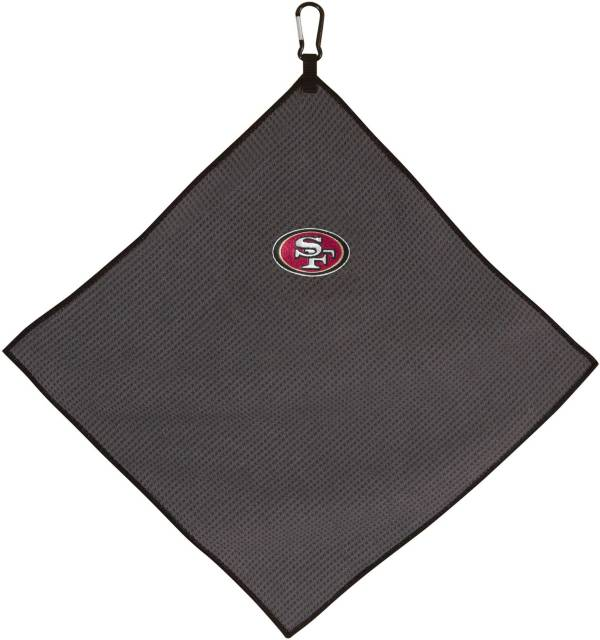 "Team Effort San Francisco 49ers 15"" x 15"" Microfiber Golf Towel product image"