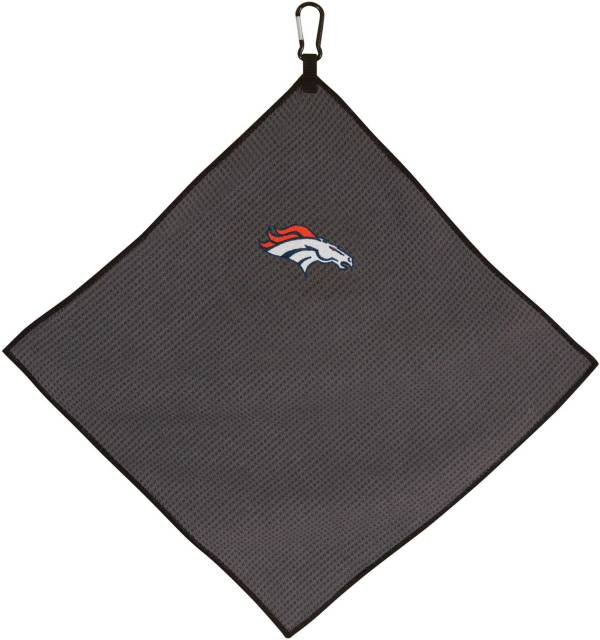 "Team Effort Denver Broncos 15"" x 15"" Microfiber Golf Towel product image"