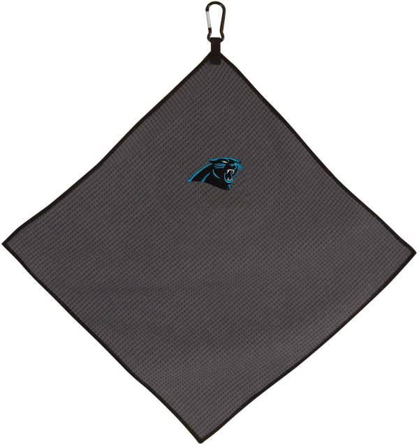 "Team Effort Carolina Panthers 15"" x 15"" Microfiber Golf Towel product image"