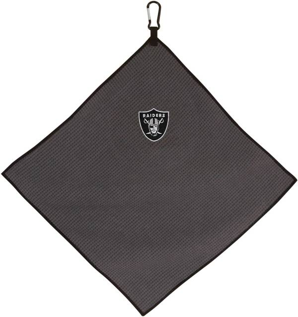 "Team Effort Las Vegas Raiders 15"" x 15"" Microfiber Golf Towel product image"
