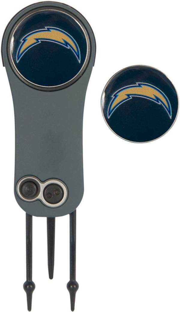 Team Effort Los Angeles Chargers Switchblade Divot Tool and Ball Marker Set product image