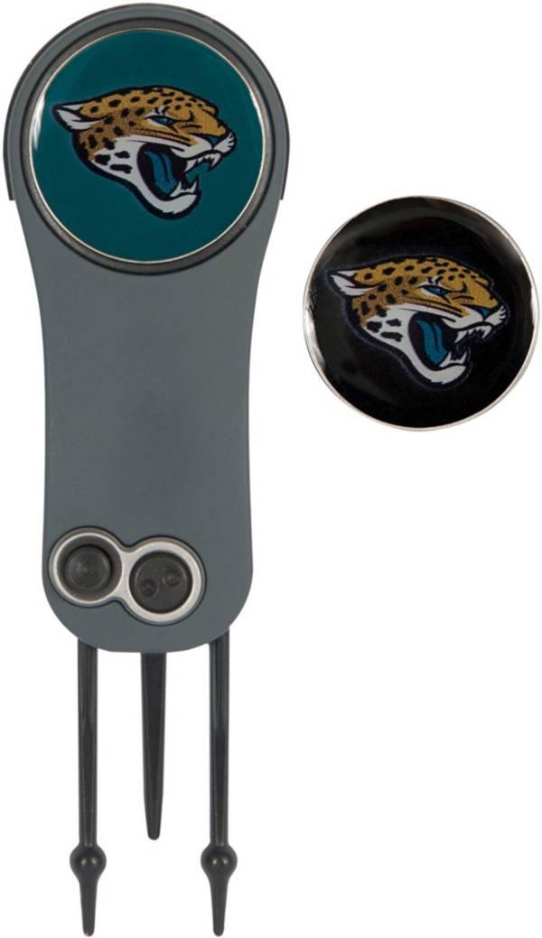 Team Effort Jacksonville Jaguars Switchblade Divot Tool and Ball Marker Set product image