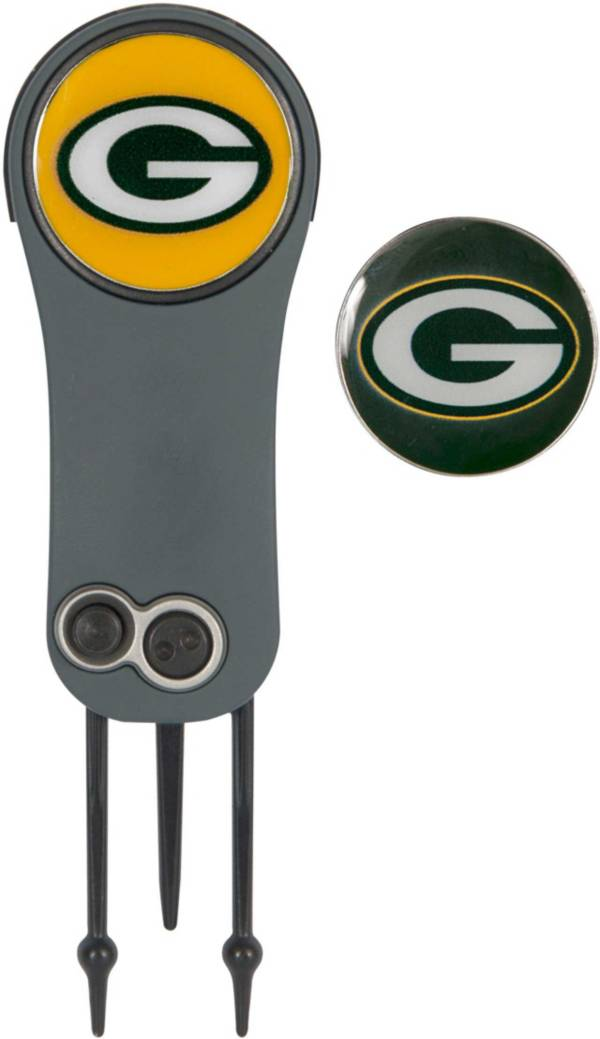 Team Effort Green Bay Packers Switchblade Divot Tool and Ball Marker Set product image