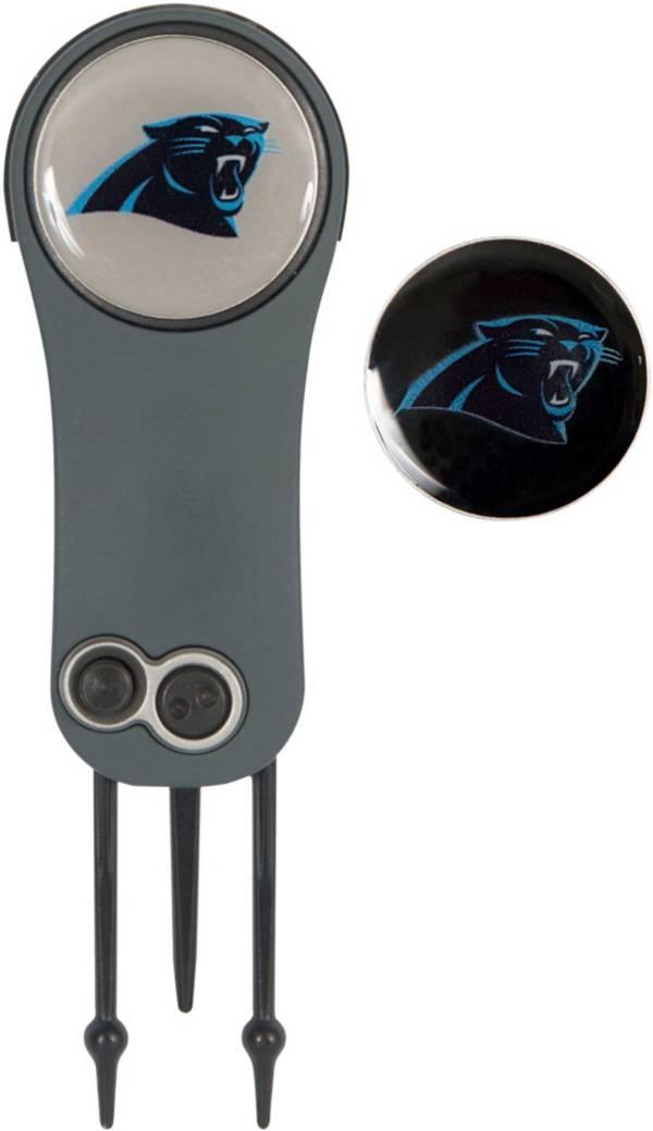 Team Effort Carolina Panthers Switchblade Divot Tool and Ball Marker Set product image