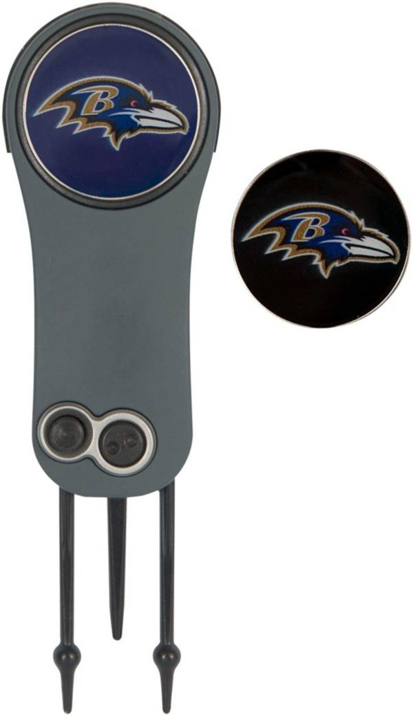 Team Effort Baltimore Ravens Switchblade Divot Tool and Ball Marker Set product image