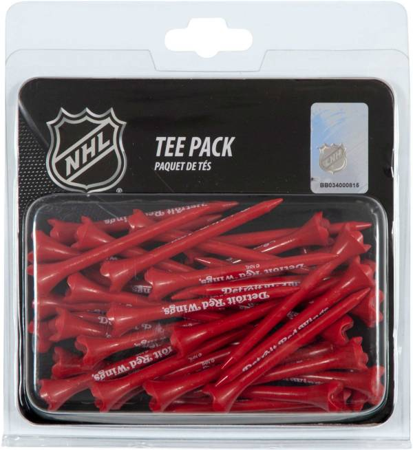 "Team Effort Detroit Red Wings 2.75"" Golf Tees - 40 Pack product image"
