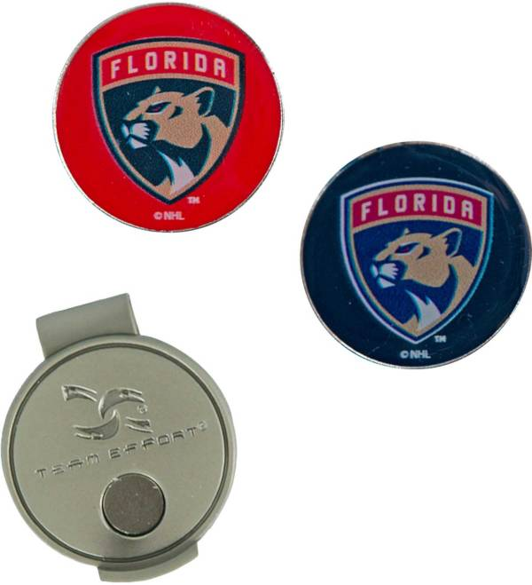 Team Effort Florida Panthers Hat Clip and Ball Markers Set product image