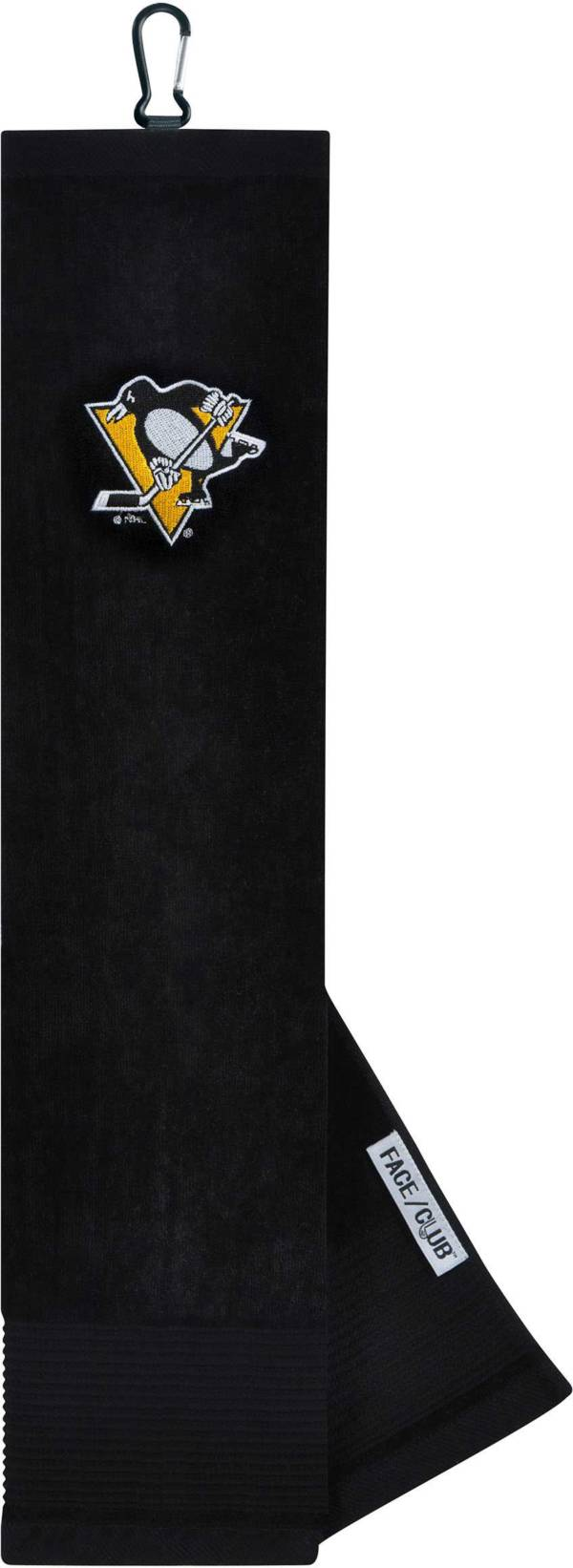 Team Effort Pittsburgh Penguins Embroidered Face/Club Tri-Fold Towel product image