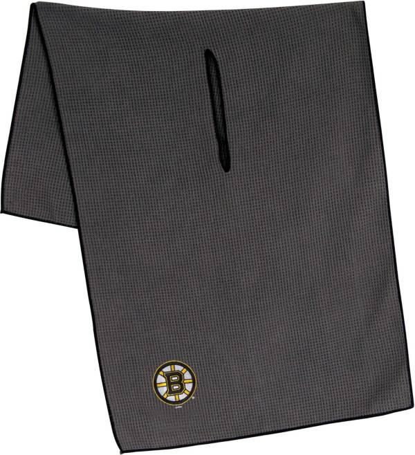 "Team Effort Boston Bruins 19"" x 41"" Microfiber Golf Towel product image"