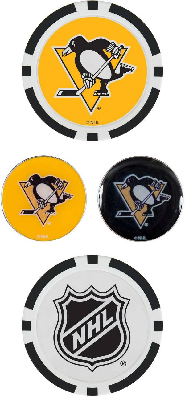 Team Effort Pittsburgh Penguins Ball Marker Set product image