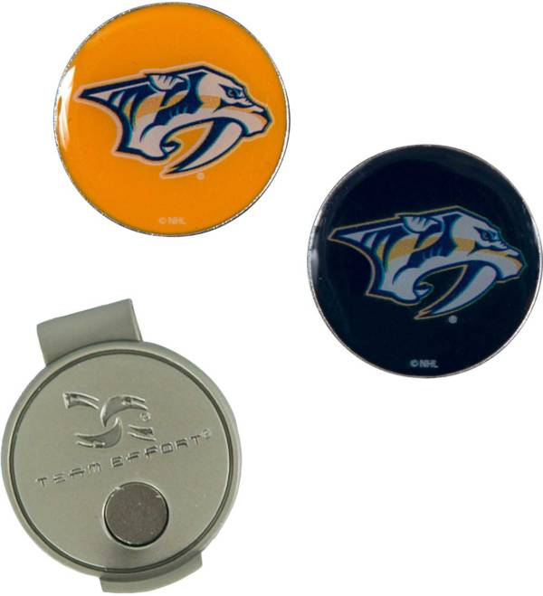 Team Effort Nashville Predators Hat Clip and Ball Markers Set product image