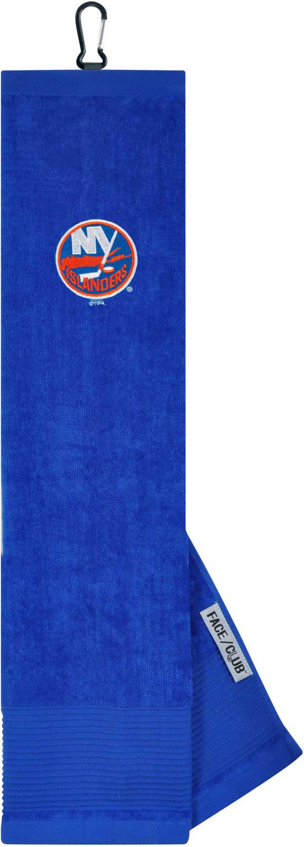Team Effort New York Islanders Embroidered Face/Club Tri-Fold Towel product image