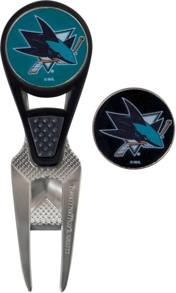 Team Effort San Jose Sharks CVX Divot Tool and Ball Marker Set product image