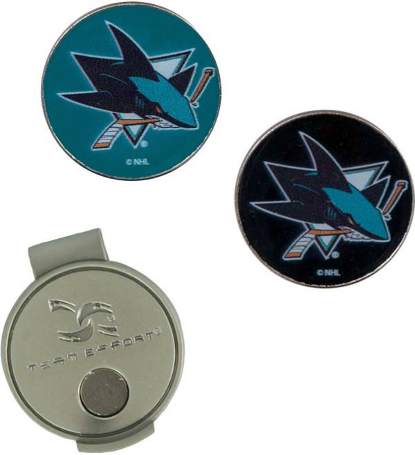 Team Effort San Jose Sharks Hat Clip and Ball Markers Set product image