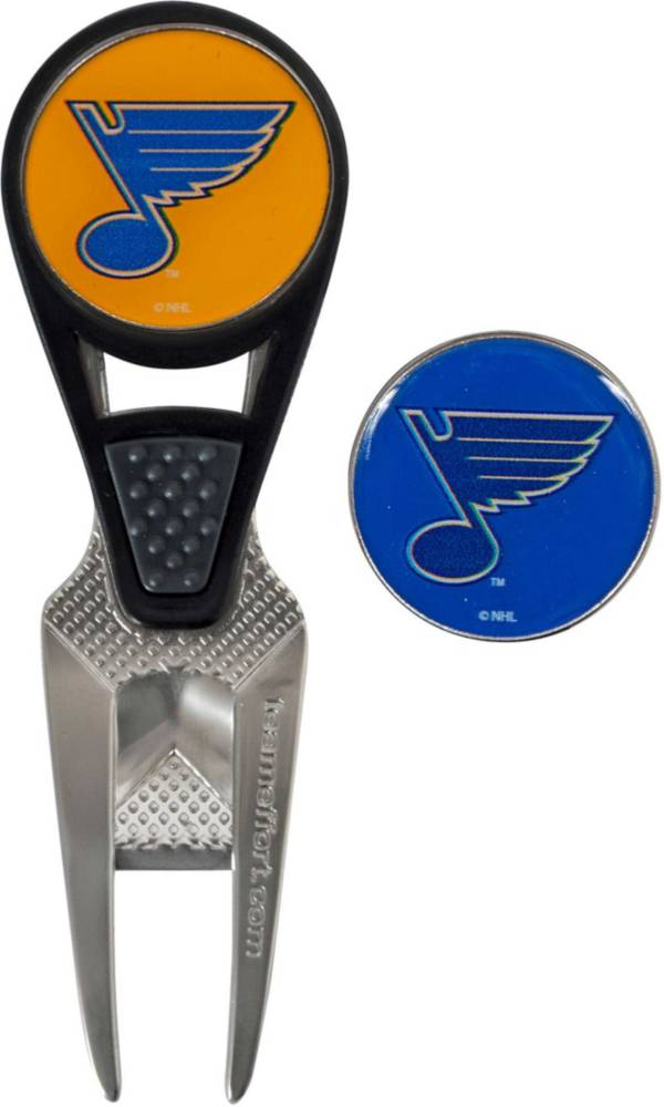 Team Effort St. Louis Blues CVX Divot Tool and Ball Marker Set product image