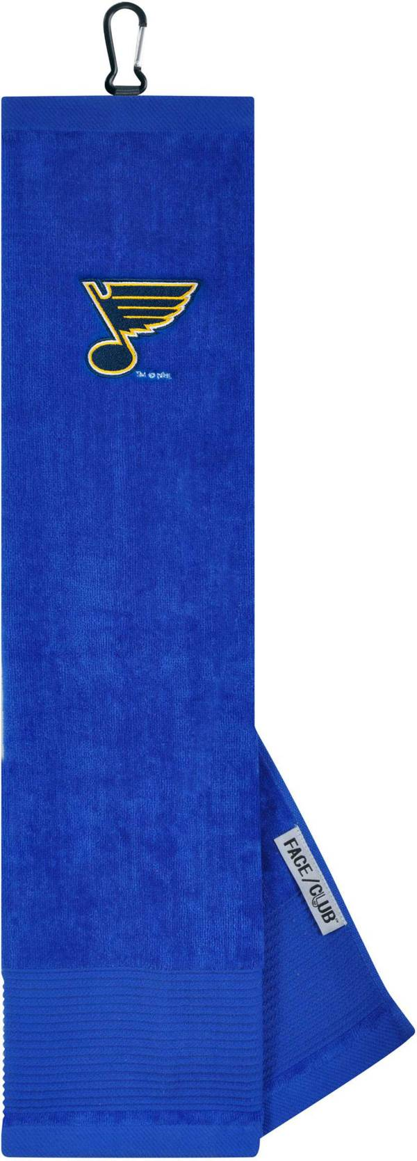 Team Effort St. Louis Blues Embroidered Face/Club Tri-Fold Towel product image