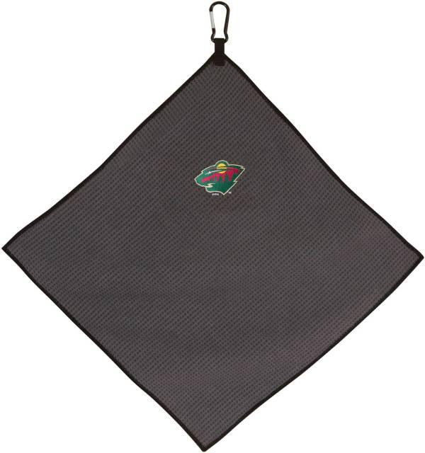 "Team Effort Minnesota Wild 15"" x 15"" Microfiber Golf Towel product image"