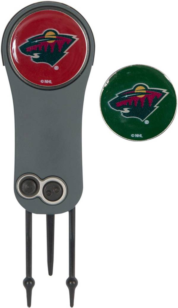 Team Effort Minnesota Wild Switchblade Divot Tool and Ball Marker Set product image