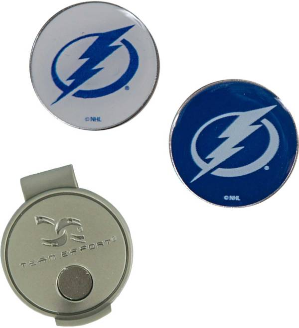 Team Effort Tampa Bay Lightning Hat Clip and Ball Markers Set product image