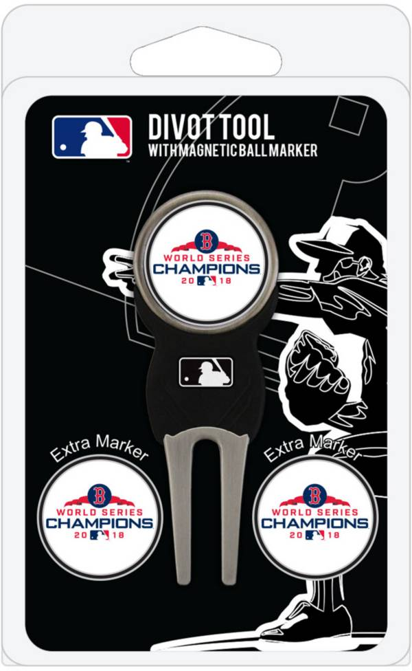 Team Golf 2018 World Series Champions Boston Red Sox Divot Tool and Marker Set product image