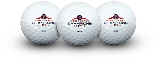 Team Golf 2018 World Series Champions Boston Red Sox Golf Balls – 3 Pack product image