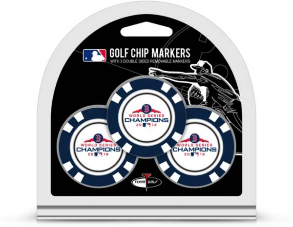 Team Golf 2018 World Series Champions Boston Red Sox Poker Chips Ball Markers – 3-Pack product image