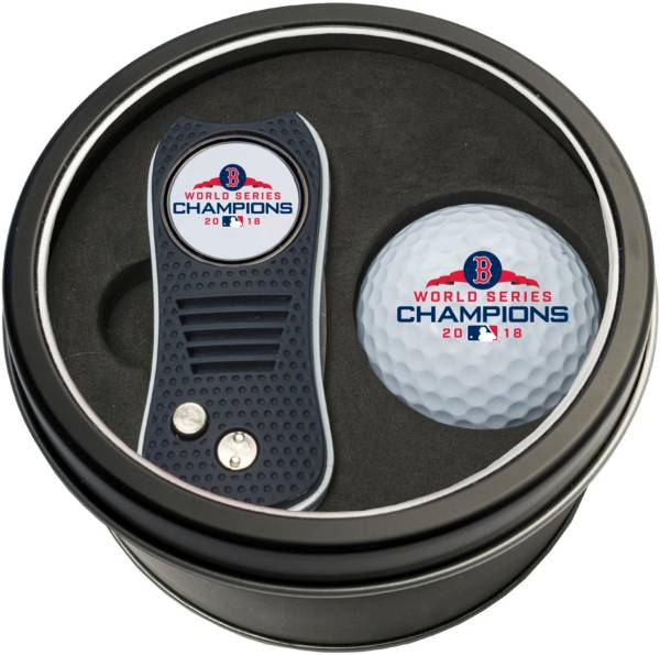 Team Golf 2018 World Series Champions Boston Red Sox Switchfix Divot Tool and Golf Ball Set product image