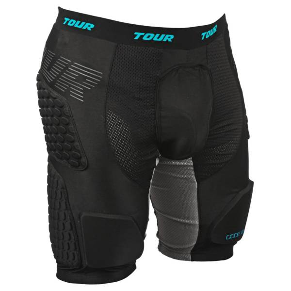 TOUR Hockey Adult Code 1 Roller Hockey Hip Pads product image