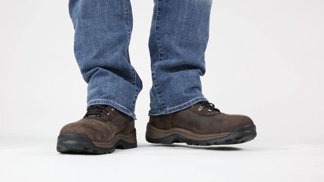 daaafc1ebea Timberland PRO Men's Flume Mid Waterproof Steel Toe Work Boots