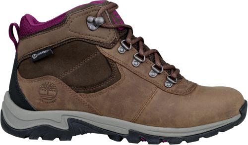 9ac3fc665893 Timberland Women s Mt. Maddsen Mid Leather Waterproof Hiking Boots ...