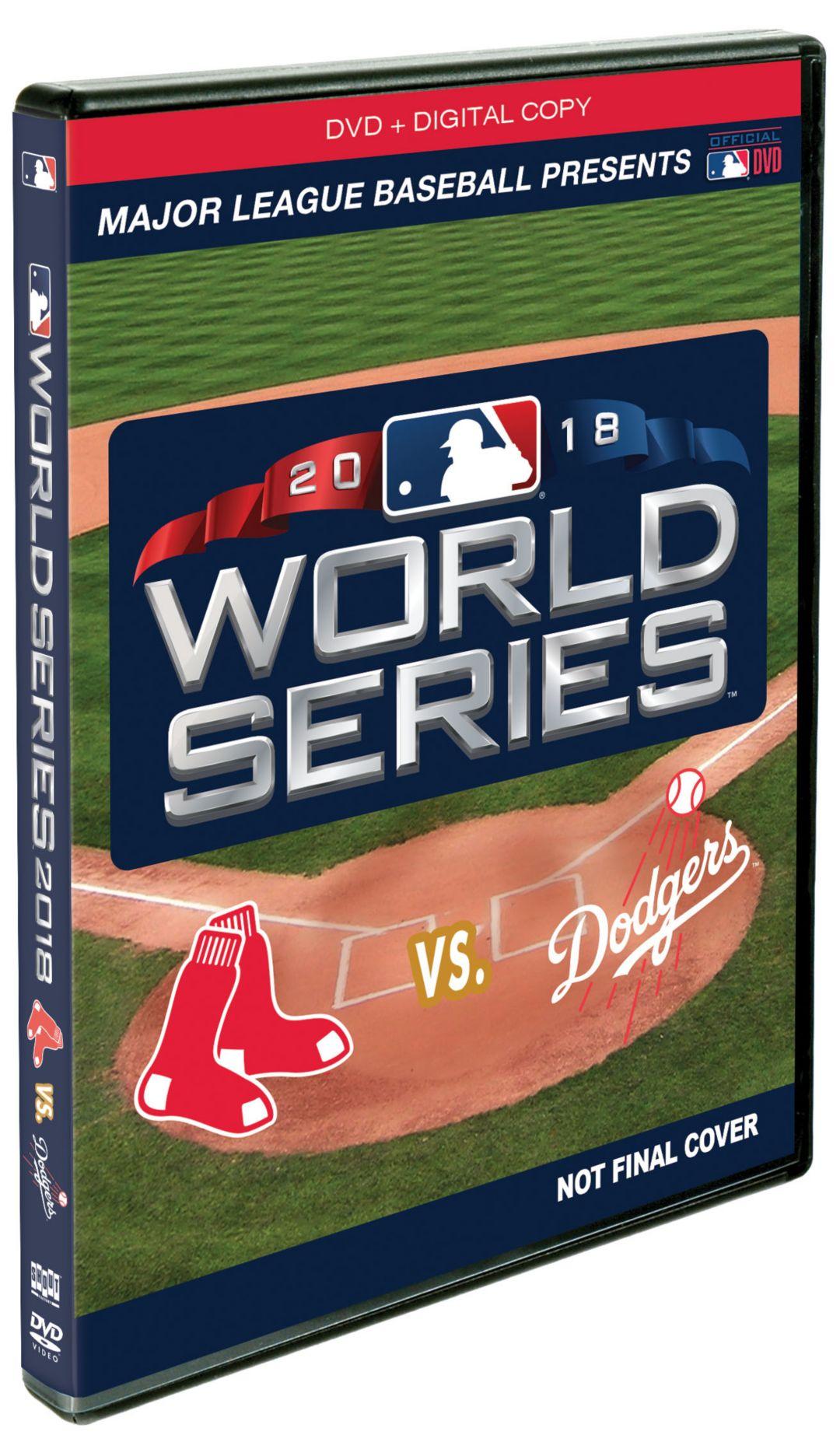 2018 World Series Champions Boston Red Sox Film DVD